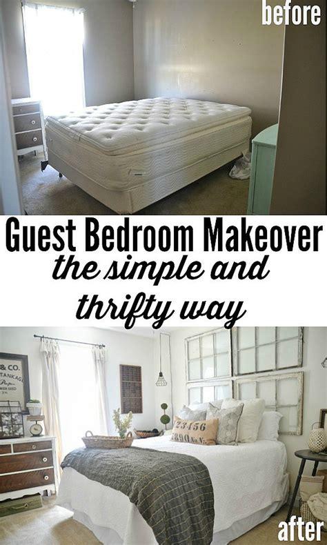 guest bedroom makeover reveal bedroom makeovers reveal inspiring design ideas