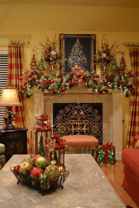17 ideas about christmas mantel decor on pinterest