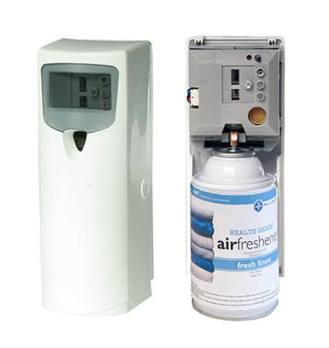commercial bathroom air freshener metered mist automatic aerosol dispensers refills air