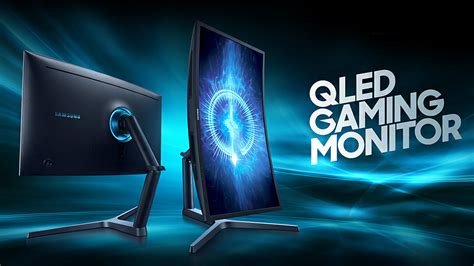 samsung qled samsung qled chg90 is the largest gaming monitor letsgodigital