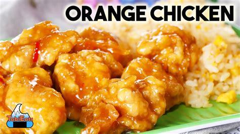 easy orange chicken recipe   panda express