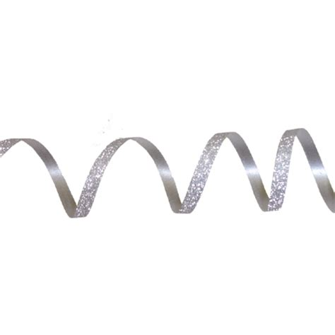 Ribbon Silver 3 16 curling ribbon silver 50 yd roll