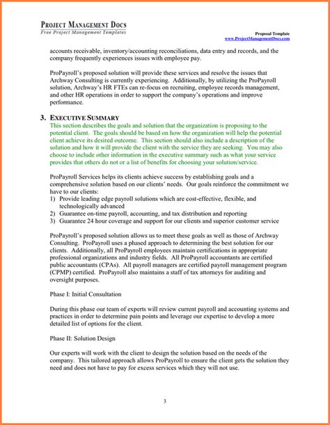 8 Project Management Proposal Sle Project Proposal Project Management Rfp Template