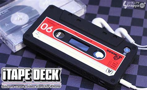 iphone 4 cassette itape deck cassette iphone 4 gadgetsin