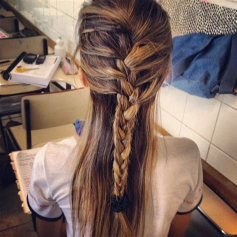 casual braided hairstyles for medium hair casual feminine french braid for long hair hairstyles weekly