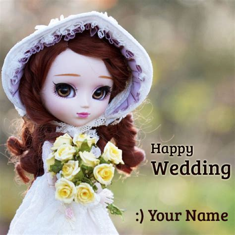 Wedding Wishes Dp by Happy Wedding Wishes Doll Profile Picture