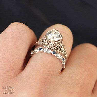 Wedding Bands Mobile Al by 5 Simple Tips To Pair Vintage Style Engagement Rings With