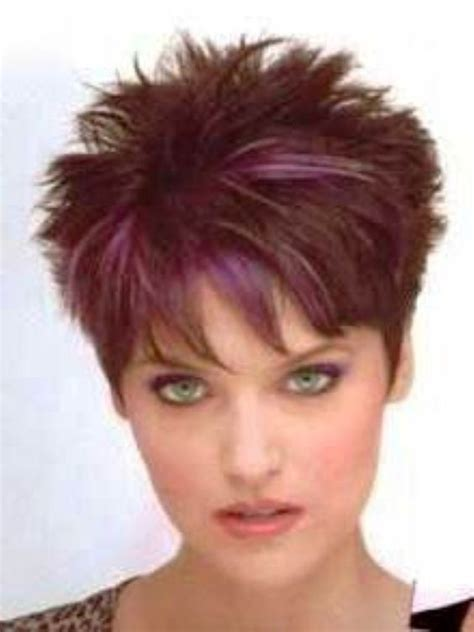spikey hairstyles for women over 45 with fat face sarah 2 amazing elements in short spiky hairstyles for