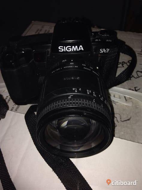 Kamera Sigma en gammal sigma kamera med behov av filmrulle objektiv bor 229 s bollebygd citiboard