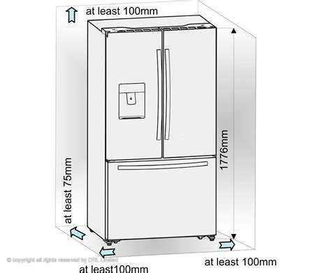 refrigerator dimensions things to consider about the width of your new american fridge freezer kitchen appliances