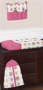 Pink Owl Crib Bedding Designer Pink And White Happy Owl Nature Theme Baby Unique Crib Bedding Set