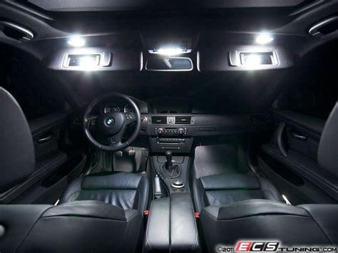 ecs news bmw  led interior lighting kit