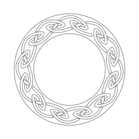 celtic circles tattoo designs celtic circle knots circle stencil for tattooists