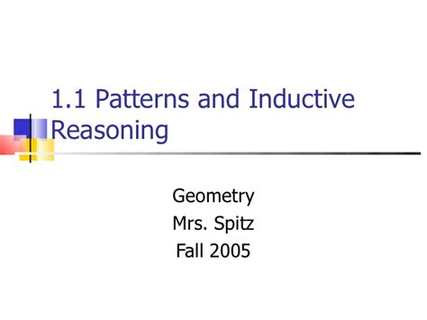 geometric pattern and inductive reasoning 1 1 patterns inductive reasoning
