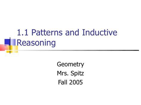 pattern definition math 1 1 patterns inductive reasoning