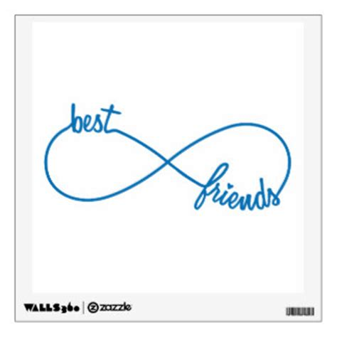 best friend wall decals wall stickers zazzle