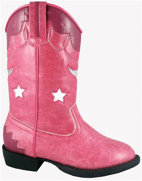 toddler pink boots smoky mountain boots toddler lights pink faux