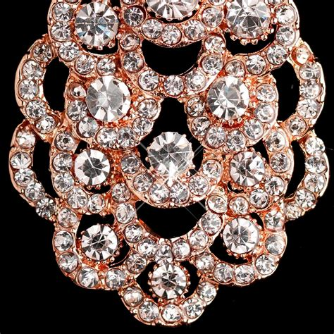 Gold Rhinestone Chandelier Earrings Gold Clear Rhinestone Chandelier Earrings