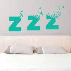 Bedroom Wall Decals Uk Large Sleepy Birds Bedroom Wall Sticker By So They Made