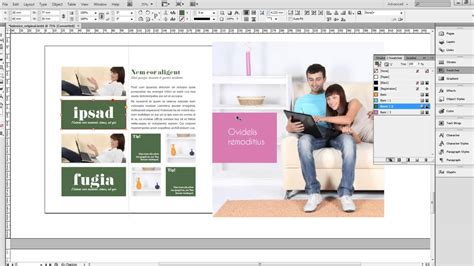magazine design youtube indesign magazine template kalonice square youtube