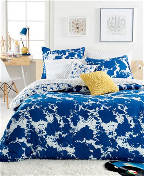 macys teen bedding teen vogue something blue comforter sets bed in a bag