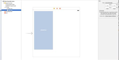 autolayout in xcode 6 1 ios resize issue in xcode 6 1 resize of one element