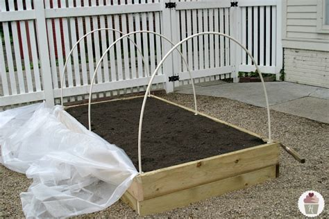 garden bed cover how to make a raised garden bed cover hoosier homemade