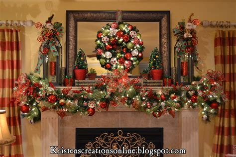 christmas mantel swags princess decor