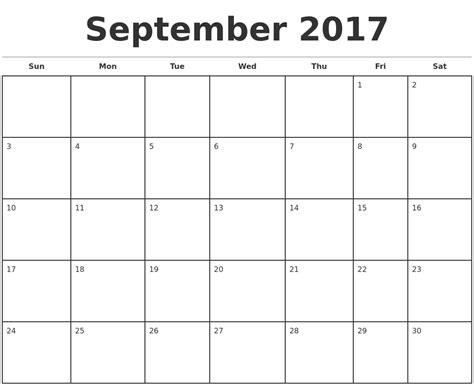 september calendar template august 2017 print a calendar