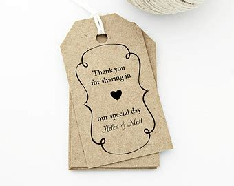 8 best images of wedding gift tag templates printable