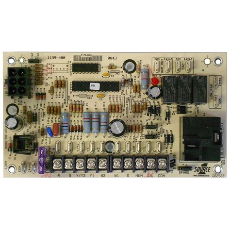 furnace board no lights board for air handler electric furnace 031 09156