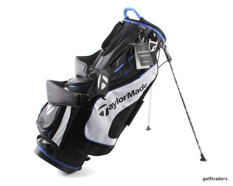 Golf Taylomade Shoe Bag Tas Sepatu Golf taylormade tm18 stand bag black white blue new e4829 just 199 00