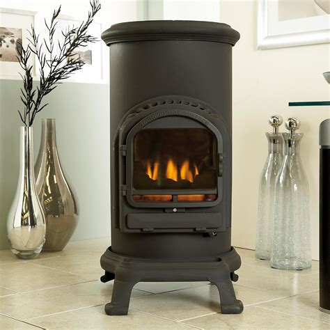 portable gas fireplace heater fireplace