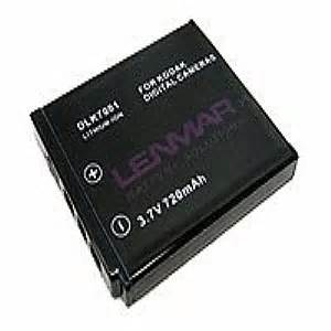 lenmar nomem dlk7001 camera battery li ion 720 mah for