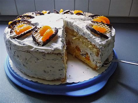dickmann kuchen schokokusstorte mit mandarinen rezept mit bild