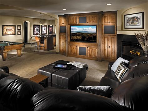 basement rooms basement design and layout hgtv
