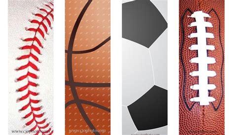 Printable Bookmarks Sports | free printable sports bookmarks free printable bookmarks