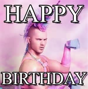 Unicorn Birthday Meme - happy unicorn man meme on memegen