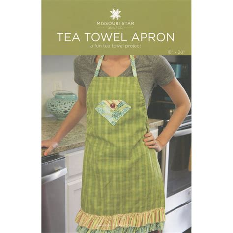 Pattern For Apron With Towel | tea towel apron pattern sku pat759 missouri star quilt
