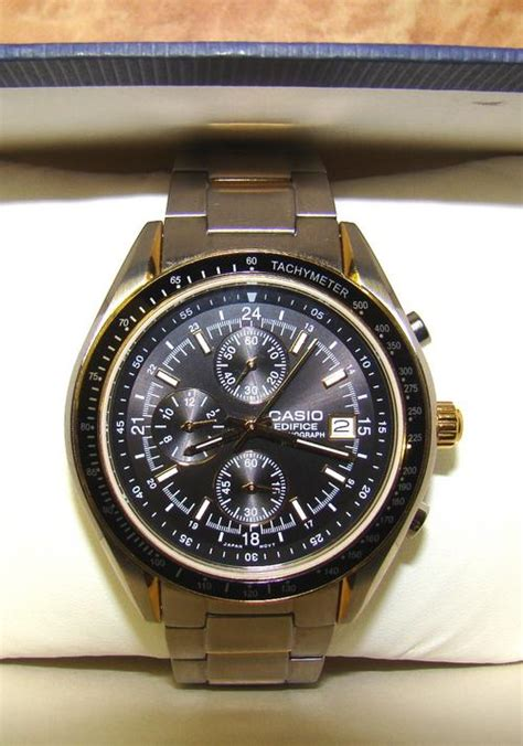 Casio Edifice 8051 Silver Box s watches casio edifice ef 503 s chronograph