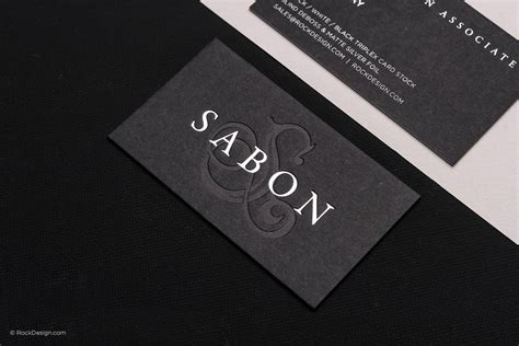 Buy Thick Black Business Cards Now Rockdesign Com Luxury Business Card Template