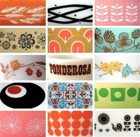 design pattern guide mod pyrex designs my childhood pinterest pyrex