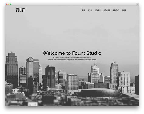 architect template best themes for architects and architectural