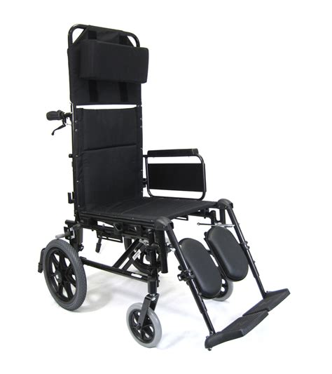 Reclining Wheel Chair by Folding Recliner Wheelchairs High Back Reclining Chair