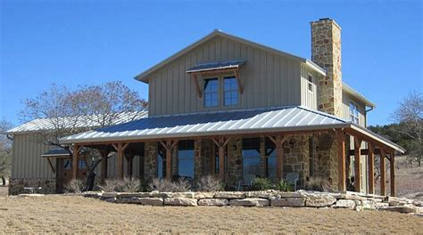 Metal Shop With Living Quarters Floor Plans by Lovely Ranch Home W Wrap Around Porch In Texas Hq Plans