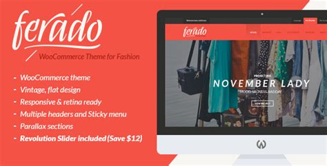 themeforest woocommerce theme free download ferado woocommerce theme free download v1 5 themeforest