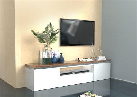 mobile porta tv bianco messicoper soggiorno moderno elegante