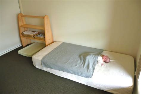 montessori bedroom baby a floor bed used from the start will give the child the