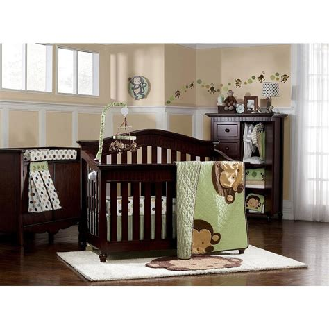Monkey Crib Bedding Sets For Boys Kidsline Pop Monkey Crib Bedding And Decor Baby Bedding And Accessories