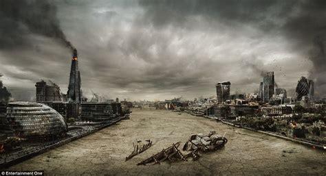 thames river edinburgh london artist creates post apocalyptic versions of london
